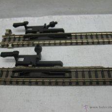 Trenes Escala: FLEISCHMANN REF: 9114 - PAREJA DE DOS DESENGANCHES MANUALES ACCESORIO - ESCALA N. Lote 42860770