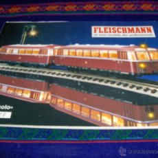 Trenes Escala: CATÁLOGO FLEISCHMANN 1996/97 N PICCOLO. LE TRAIN-MODÈLE DES PROFESSIONNELS. CON PRECIOS. 106 PGNS BE. Lote 43248227