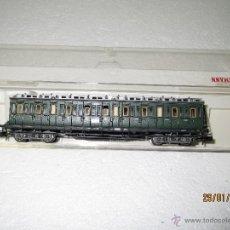 Trenes Escala: FLEISCHMANN. COCHE A COMPARTIMENTOS PRUSIANO 3ª CLASE REF. 8087 DE LA DR EN ESCALA *N* .. Lote 47478078