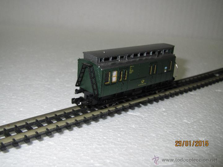 Trenes Escala: Antiguo Furgón Postal de Deutsche Bundespost en Escala *N* de FLEISCHMANN - Foto 5 - 47545080