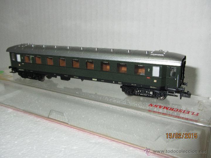 Trenes Escala: Descatalogado Coche de Viajeros 2ª Clase Trenes Rapidos en Escala *N* de FLEISCHMANN . - Foto 3 - 47841682