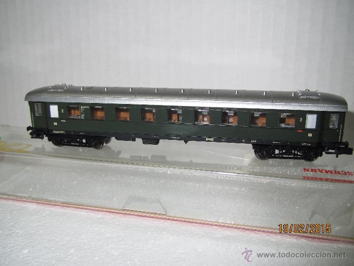 Trenes Escala: Descatalogado Coche de Viajeros 2ª Clase Trenes Rapidos en Escala *N* de FLEISCHMANN . - Foto 5 - 47841682