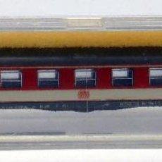Trenes Escala: VAGÓN TREN LIMA N PASAJEROS ROJO Y GRIS ITALY CAJA AÑOS 80. Lote 52251662