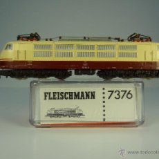 Trenes Escala: LOCOMOTORA ELÉCRICA DB FLEISCHMANN N 7376. Lote 53940190