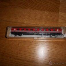Trenes Escala: VAGON TREN FLEISCHMANN REF 8118 EN CAJA BUEN ESTADO. Lote 54606223