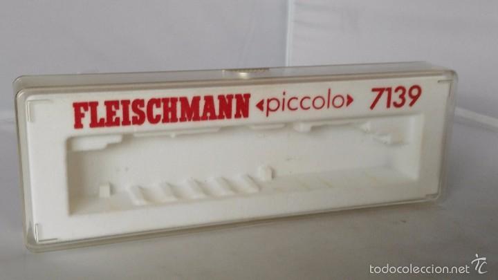 CAJA VACIA LOCOMOTORA FLEISCHMANN ESCALA N 7139 (Juguetes - Trenes a Escala N - Fleischmann N)