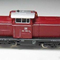 Trenes Escala: FLEISCHMANN N - LOCOMOTORA DB 7230 212380-0 - CON LUCES - FUNCIONA. Lote 60976599