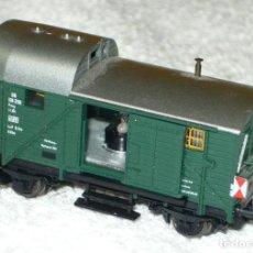 Trenes Escala: VAGON FLEISCHMANN 8301 DB CON LUZ ESCALA N. Lote 66776982
