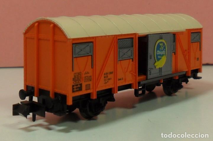 Trenes Escala: FLEISCHMANN N - 8331 - Vagón para transporte de plátanos - Foto 2 - 71129985