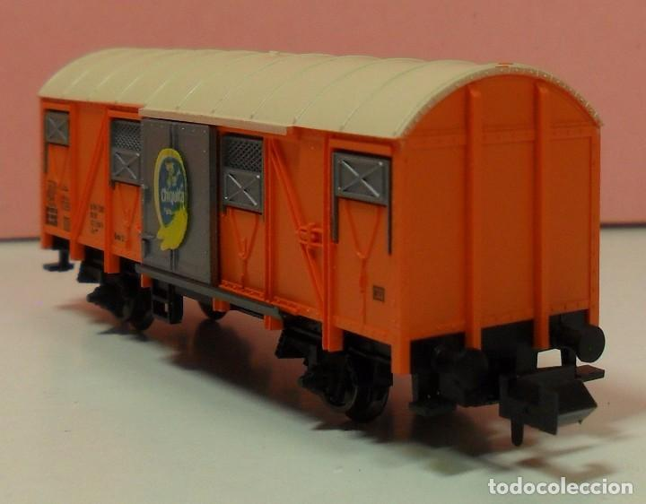 Trenes Escala: FLEISCHMANN N - 8331 - Vagón para transporte de plátanos - Foto 3 - 71129985