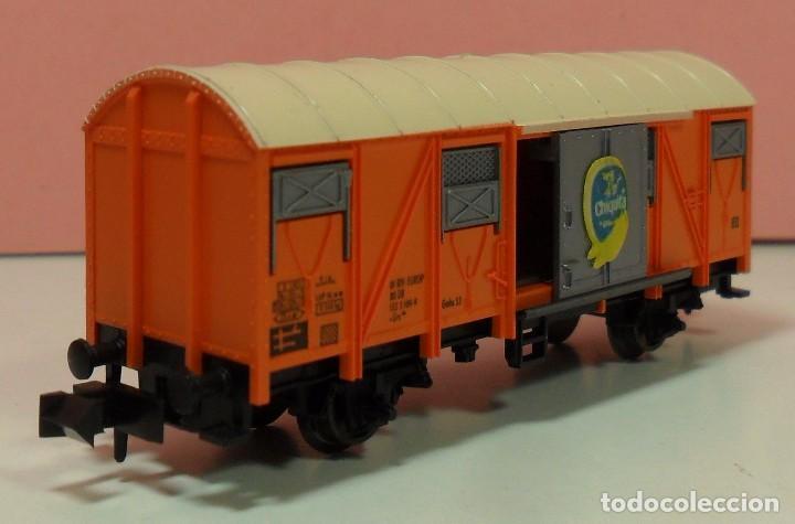 Trenes Escala: FLEISCHMANN N - 8331 - Vagón para transporte de plátanos - Foto 6 - 71129985