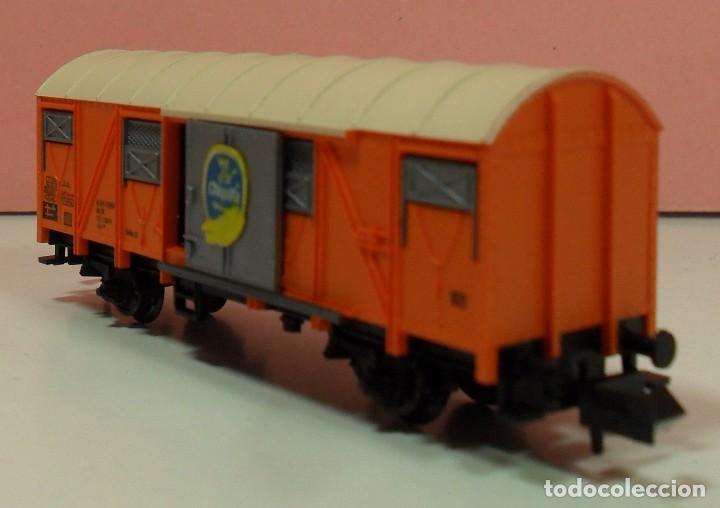 Trenes Escala: FLEISCHMANN N - 8331 - Vagón para transporte de plátanos - Foto 7 - 71129985