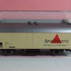 Trenes Escala: FLEISCHMANN N - 8324 - VAGÓN DB REFRIGERADOR APOLLINARIS - CON CAJA ORIGINAL. Lote 71132109