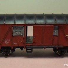 Trenes Escala: FLEISCHMANN N - VAGÓN DE TRANSPORTE DE MERCANCÍAS CON PUERTAS CORREDERAS. Lote 71621643