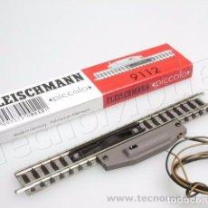Trenes Escala: FLEISCHMANN 9112 VIA DE DESENGANCHE ELECTRICO BALASTRO. Lote 71731159