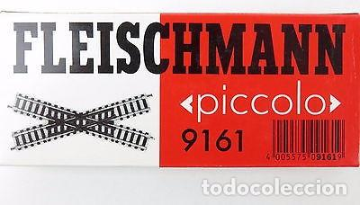 FLEISCHMANN 9161. CRUCE VÍAS PROFI DE 115 MM Y 30º (Juguetes - Trenes a Escala N - Fleischmann N)