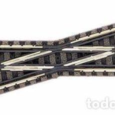 Trenes Escala: N FLEISCHMANN 9162 CRUCE 15º IZDA BALASTRO. Lote 71734539