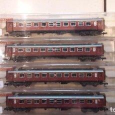 Trenes Escala: 4 COCHES PASAJEROS N FLEISCHMANN 8171. Lote 82921340