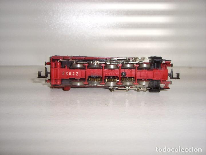 Trenes Escala: FLEISCHMANN N locomotora vapor BR 94 (Con compra de 5 lotes o mas envío gratis) - Foto 3 - 86036956