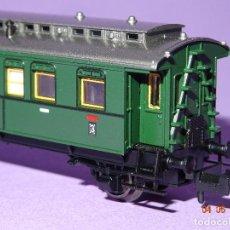 Trenes Escala: DESCATALOGADO COCHE VIAJEROS 3ª CLASE REGIONALES DE LA DRG REF. 8066 EN ESCALA *N* DE FLEISCHMANN. Lote 86215128
