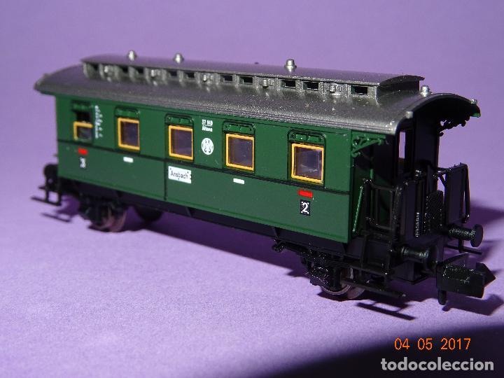Trenes Escala: Descatalogado Coche Viajeros 3ª Clase Regionales de la DRG Ref. 8066 en Escala *N* de FLEISCHMANN - Foto 3 - 86215128