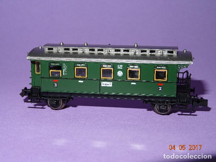 Trenes Escala: Descatalogado Coche Viajeros 3ª Clase Regionales de la DRG Ref. 8066 en Escala *N* de FLEISCHMANN - Foto 5 - 86215128