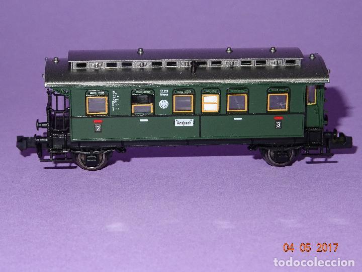 Trenes Escala: Descatalogado Coche Viajeros 3ª Clase Regionales de la DRG Ref. 8066 en Escala *N* de FLEISCHMANN - Foto 6 - 86215128