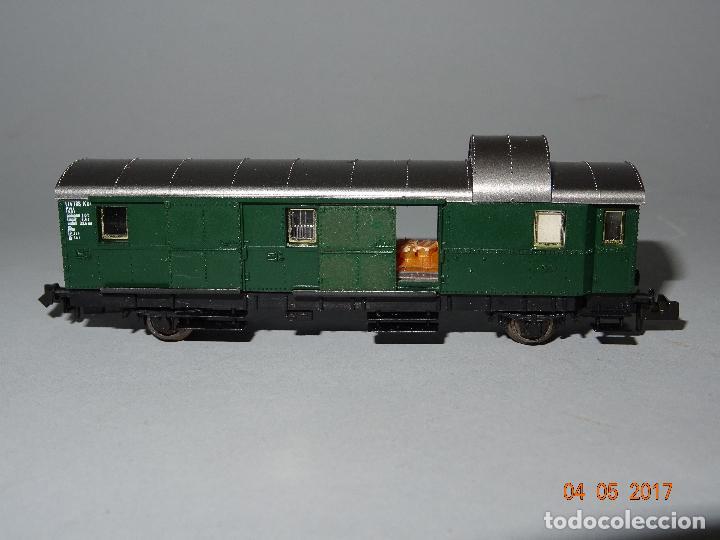 Trenes Escala: Descatalogado Furgón de la DB Ref. 8060 en Escala *N* de FLEISCHMANN - Foto 2 - 86215620