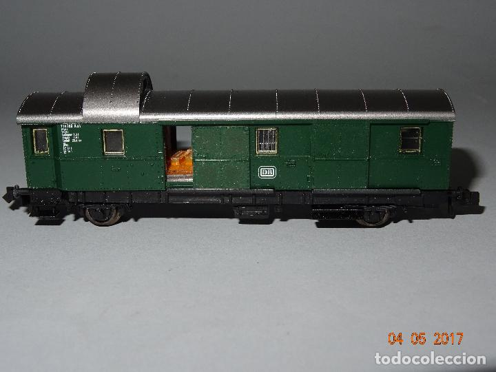 Trenes Escala: Descatalogado Furgón de la DB Ref. 8060 en Escala *N* de FLEISCHMANN - Foto 4 - 86215620