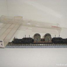 Trenes Escala: FLEISCHMANN TRANSPORTES ESPECIALES 8 EJES 8299 (CON COMPRA DE 5 LOTES O MAS ENVÍO GRATIS). Lote 86221548