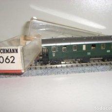 Trenes Escala: FLEISCHMANN N VAGÓN PASAJEROS 8062 CON LUZ (CON COMPRA DE 5 LOTES O MAS ENVÍO GRATIS). Lote 97689846
