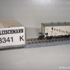 Trenes Escala: FLEISCHMANN N VAGÓN CERRADO 8341 K (CON COMPRA DE 5 LOTES O MAS ENVÍO GRATIS). Lote 97689910