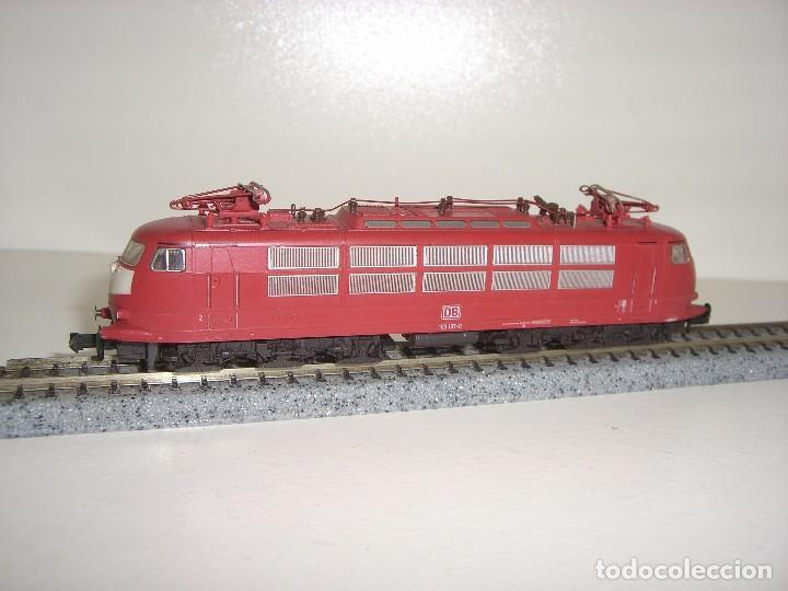 Trenes Escala: FLEISCHMANN N locomotora electrica BR 103-197 0 (Con compra de 5 lotes o mas envío gratis) - Foto 2 - 87451580