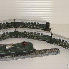 Trenes Escala: FLEISCHMANN N COMPOSICIÓN LOCOMOTORA Y 5 VAGONES PIKO (CON COMPRA DE 5 LOTES O MAS ENVÍO GRATIS). Lote 89073644