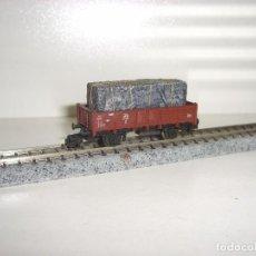Trenes Escala: MINITRIX N BORDE MEDIO CON CARGA (CON COMPRA DE 5 LOTES O MAS ENVÍO GRATIS). Lote 89383484