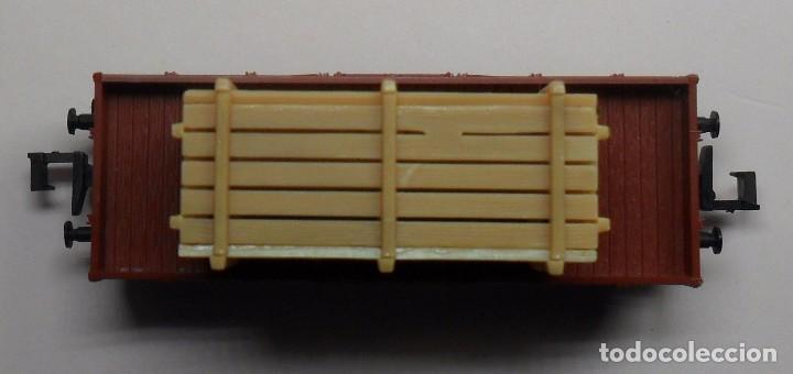 Trenes Escala: FLEISCHMANN N - Ref. 8200 - Vagón de borde bajo con carga - Caja original - Foto 8 - 89624004