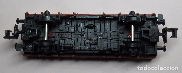 Trenes Escala: FLEISCHMANN N - Ref. 8200 - Vagón de borde bajo con carga - Caja original - Foto 9 - 89624004