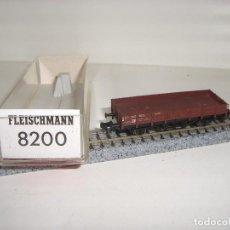 Trenes Escala: FLEISCHMANN N BORDE BAJO 8200 (CON COMPRA DE 5 LOTES O MAS ENVÍO GRATIS). Lote 89851592