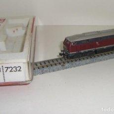 Trenes Escala: FLEISCHMANN N LOCOMOTORA BR 210 002 REF 7232 (CON COMPRA DE 5 LOTES O MAS ENVÍO GRATIS). Lote 90043420