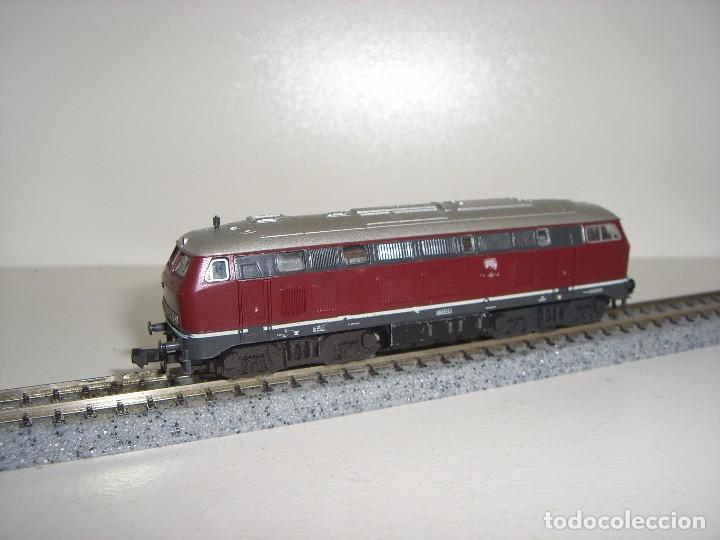 Trenes Escala: FLEISCHMANN N locomotora BR 210 002 ref 7232 (Con compra de 5 lotes o mas envío gratis) - Foto 2 - 90043420