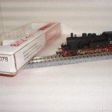 Trenes Escala: FLEISCHMANN N LOCOMOTORA VAPOR BR78 248 REF 7078 (CON COMPRA DE 5 LOTES O MAS ENVÍO GRATIS). Lote 90129592