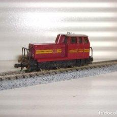 Trenes Escala: FLEISCHMANN N LOCOMOTORA MANIOBRAS (CON COMPRA DE 5 LOTES O MAS ENVÍO GRATIS). Lote 89673792