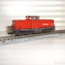 Trenes Escala: FLEISCHMANN N LOCOMOTORA MANIOBRAS CARGO BR 212 (CON COMPRA DE 5 LOTES O MAS ENVÍO GRATIS). Lote 89450780