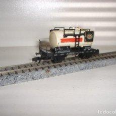 Trenes Escala: FLEISCHMANN N CISTERNA 2 EJES ESSO (CON COMPRA DE 5 LOTES O MAS ENVÍO GRATIS). Lote 91843410