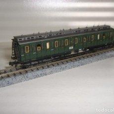 Trenes Escala: FLEISCHMANN N PASAJEROS PRUSIANO CON LUZ (CON COMPRA DE 5 LOTES O MAS ENVÍO GRATIS). Lote 93106575