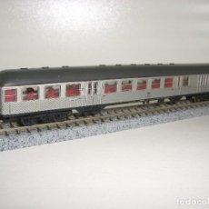 Trenes Escala: FLEISCHMANN N PASAJEROS 2ª CL CON LUZ DE SITUACIÓN TRASERA(CON COMPRA DE 5 LOTES O MAS ENVÍO GRATIS). Lote 95827079