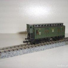Trenes Escala: FLEISCHMANN N FURGON POSTAL CON LUZ INTERIOR (CON COMPRA DE 5 LOTES O MAS ENVÍO GRATIS). Lote 97689956