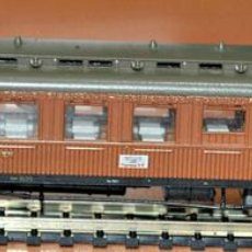 Trenes Escala: COCHE RESTAURANTE DE LA COMPAÑÍA ALEMANA DE COCHES CAMA DE FLEISCHMANN, ESCALA N.. Lote 98492331