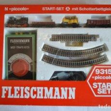 Trenes Escala: CONJUNTO 9315 PICCOLO. SET DE INICIACIÓN. A ESTRENAR. ESCALA N. FLEISCHMANN. ROMANJUGUETESYMAS.. Lote 103564571