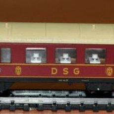 Trenes Escala: COCHE RESTAURANTE DE LA DSG CON LUZ DE FLEISCHMANN, EN ESCALA N.. Lote 103986431